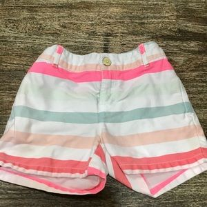 Gymboree stripped multicolored shorts.